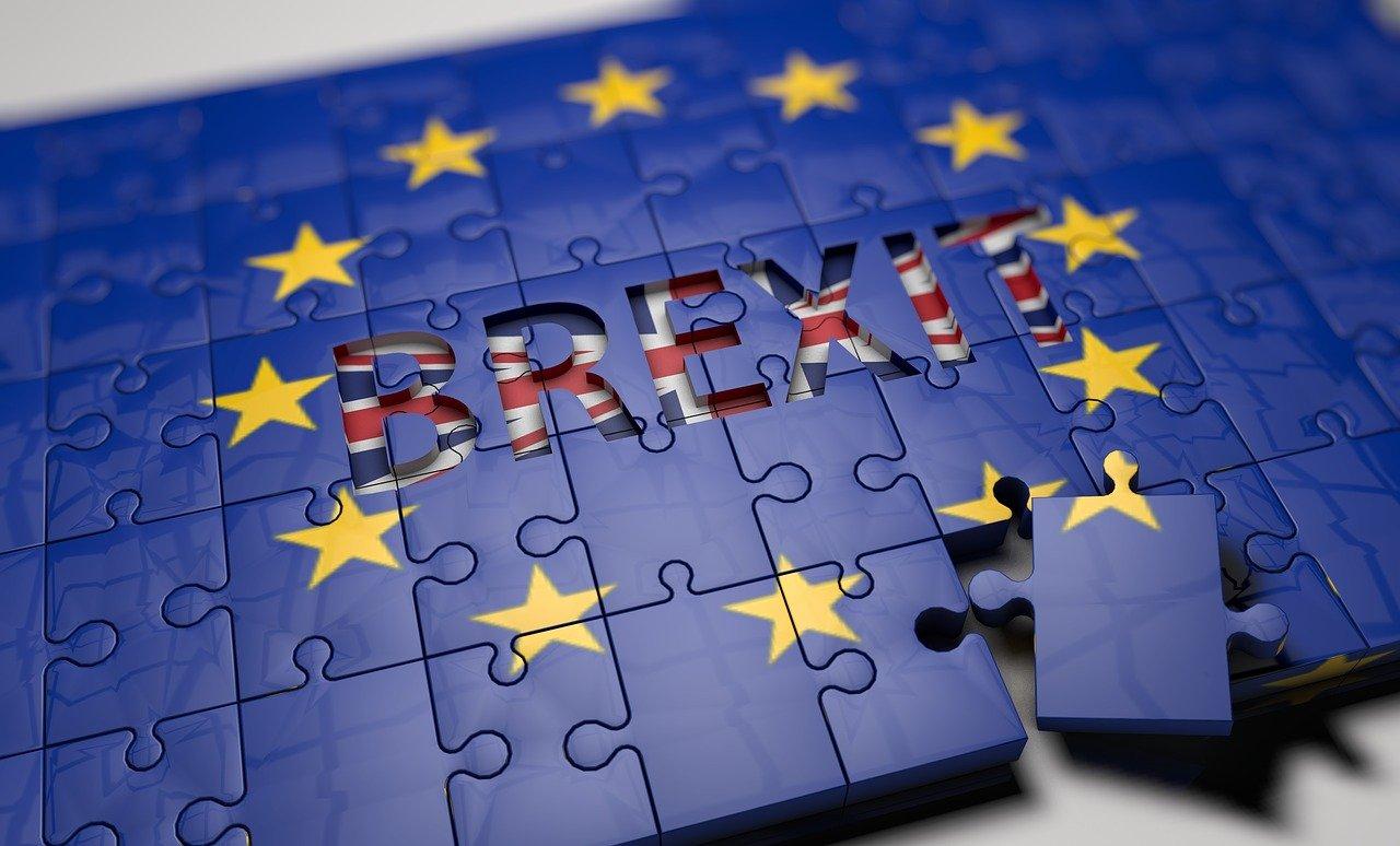 A puzzle depicting Brexit